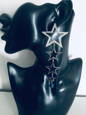 Topshop Orecchino a pendente argento-blu
