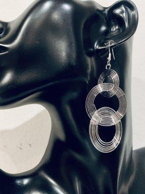 Schöne silberne Ohrringe, Ohrstecker ,sehn wirklich schön aus am Ohr.... #Topshop