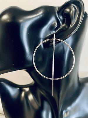Schöne silberne Ohrstecker. Ohrhänger , Creolen #Topshop
