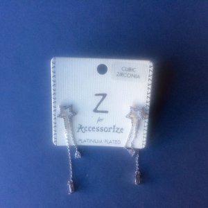 Schöne Silberohrringe von Accessorize - NEU