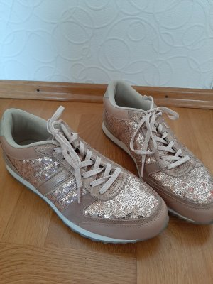 CLD Lace-Up Sneaker rose-gold-coloured-gold-colored