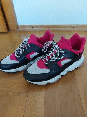 Sneaker slip-on bianco-nero