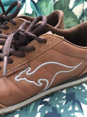 Schöne Sneaker von KangaRoos * teilweise echtes Leder