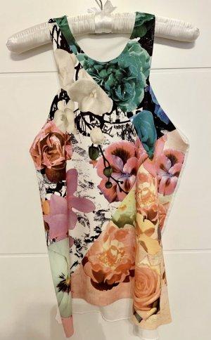 Zara Top tipo bustier multicolor