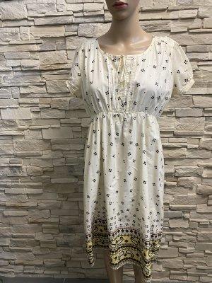 Miss Selfridge Midi Dress cream