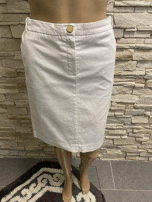 Mango Spódnica midi biały