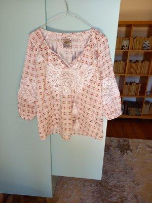 Anokhi Geruite blouse veelkleurig