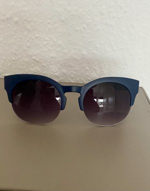 Round Sunglasses dark blue