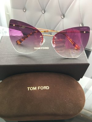 Tom Ford Gafas mariposa púrpura