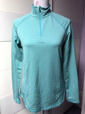 Crivit Sports Shirt white-turquoise