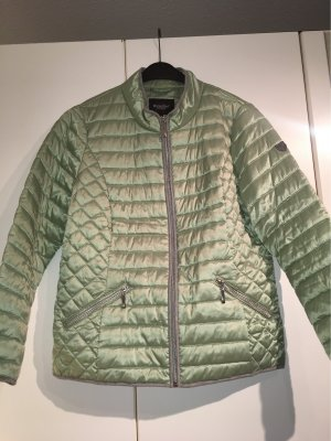 Bexleys Quilted Jacket pale green-silver-colored