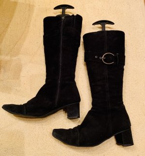Schöne Stiefel aus Frankreich Gr. 37, schwarz
