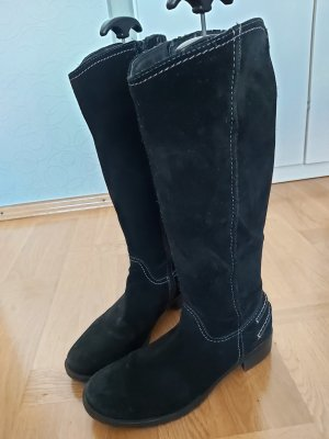 Bama Heel Boots white-black
