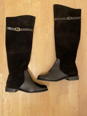Morgan Kniehoge laarzen zwart-goud