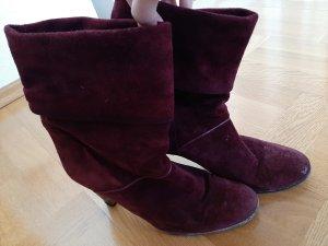 Amalfi Heel Boots bordeaux