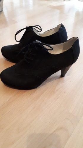 BODY FLIRT Bottines à lacets noir