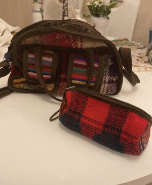 Hand made Canvas Bag multicolored