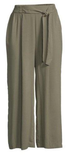 B.young Pantalon 7/8 gris vert