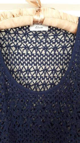 Etam Tenue de plage bleu foncé polyester
