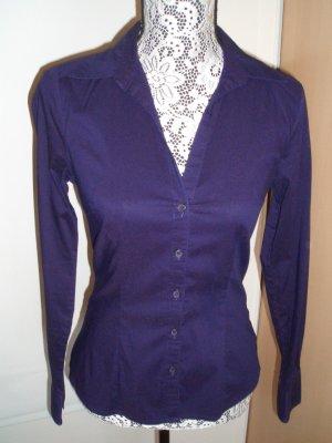 Schöne Stretch-Bluse in lila - Gr. 34