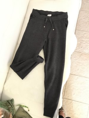 Vila Pantalone di lana grigio scuro-antracite