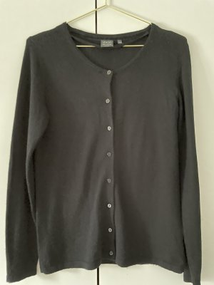 Adagio Cardigan black silk