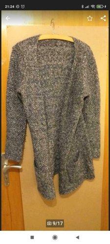 Garcia Jeans Cappotto a maglia grigio-grigio chiaro Lana
