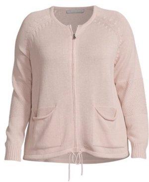 Betty & Co Giacca in maglia rosa pallido