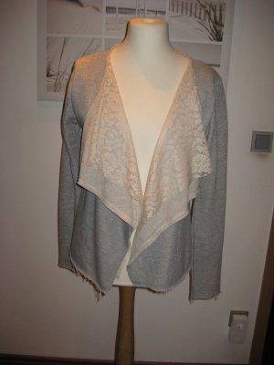 Gaudi Sweat Jacket silver-colored-natural white