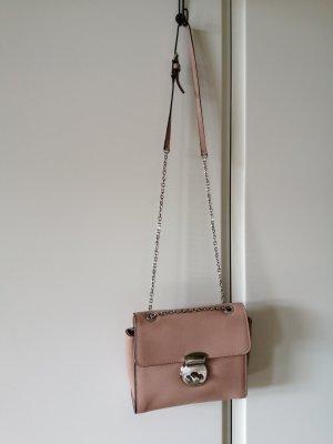 Schöne Tasche in Rosé - neuwertig