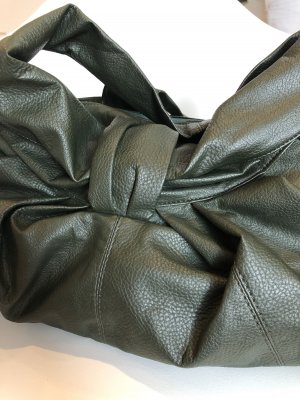 Pouch Bag forest green-khaki