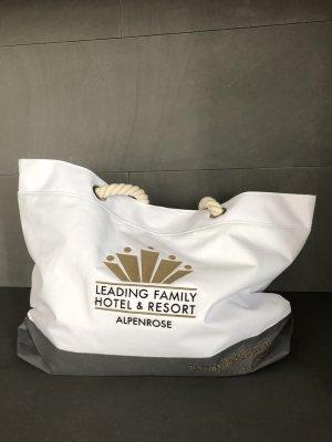 Shopper white-grey mixture fibre
