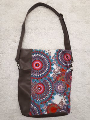 Desigual Pouch Bag multicolored polypropylene