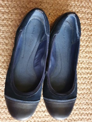 Timberland Slingback Ballerinas dark blue leather