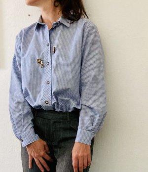 Schöne Trachten-Bluse mit tollen Details