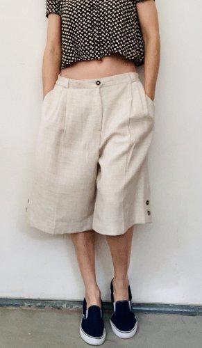 Tradycyjne spodnie jasnobeżowy-w kolorze białej wełny