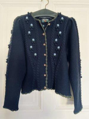 Schöne Trachten-Strick-Jacke