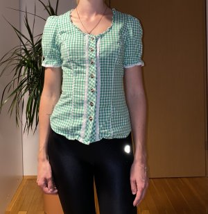 Spieth & Wensky Checked Blouse green