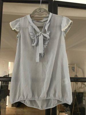 Schöne transparente Bluse von Fornarina mit tollen Details.