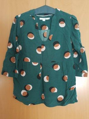 Boden Shirt Tunic dark green viscose