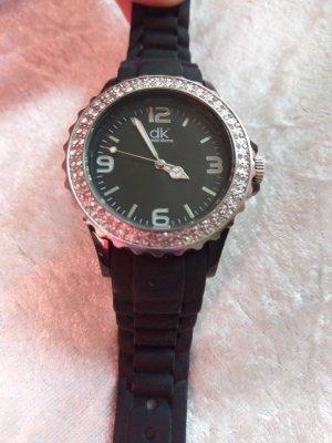 Automatisch horloge zwart-zilver