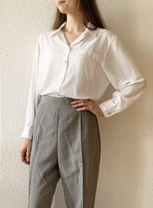 Schöne Vintagehose/ Bundfaltenhosen in grau