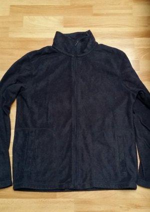 Schöne warme fleecejacke/ Sweatshirtjacke in dunkel grau/Canda/ M