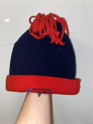 Rodeo Fabric Hat blue-red