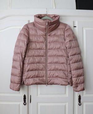 Schöne warme und leichte Jacke Steppjacke von Save the Duck Größe 2 36 38 in rosa rose
