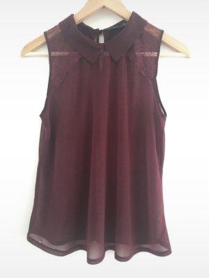 Primark Cols de blouses bordeau