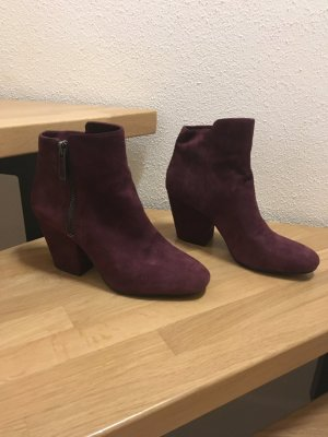 1. state Zipper Booties purple