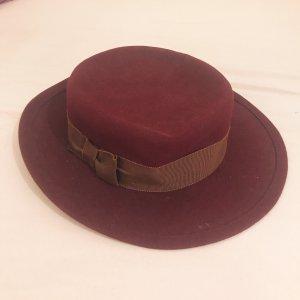 Wełniany kapelusz Wielokolorowy