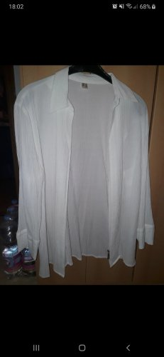 Blouse Jacket white-silver-colored