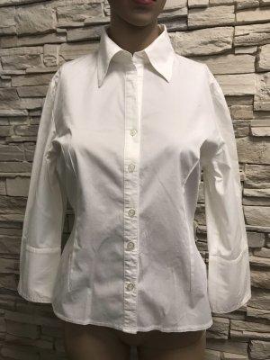Schöne Weiße  Bluse von Clockhouse C&A Gr 40
